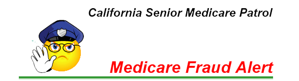 Medicare Fraud Alert! Read about a dangerous Medicare card phone scam